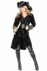 Adult Pirate Vixen Coat Jacket - click to enlarge