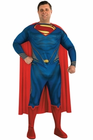 Plus Size Superman Man of Steel Adult Costume - click to enlarge