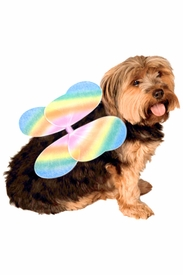 Rainbow Fairy Wings for Pets - click to enlarge