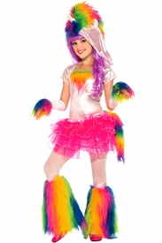Rainbow Unicorn Child Costume - click to enlarge