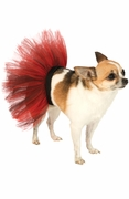 Red and Black Pet Tutu
