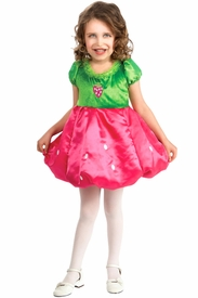 Strawberry Dress Child Costume - click to enlarge