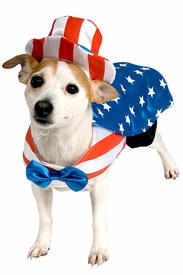 Uncle Sam Pet Costume - click to enlarge