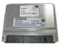 BMW X3 2.5L E83 ECU DME, Siemens MS 45.1, M54 Engine