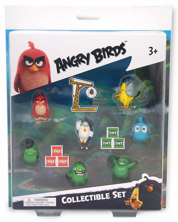 Angry Birds - Collectible Set - 7 Figures - Style 2