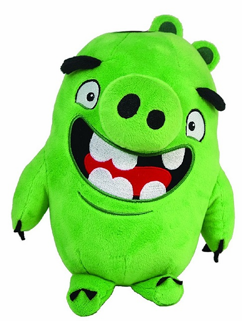 Angry Birds - Talking Plush 11 inch - Green Pig