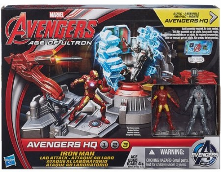 Avengers Age of Ultron - Avenger HQ - Lab Attack