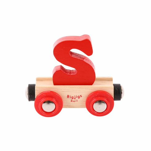 Bigjigs Rail - Rail Name Letter S