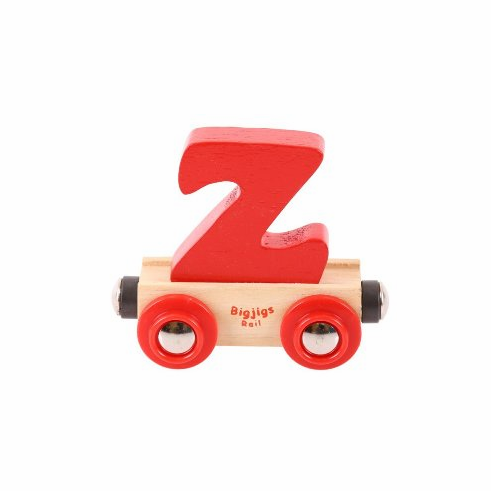 Bigjigs Rail - Rail Name Letter Z