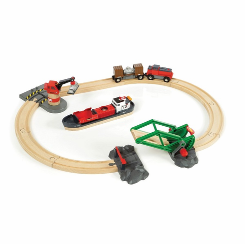 BRIO Railway - Cargo Harbour Set