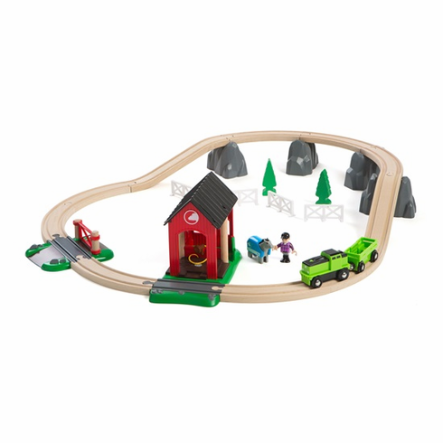 BRIO Railway - Countryside Horse Set