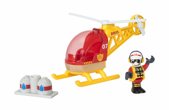 BRIO Railway - Firefighter Helicopter
