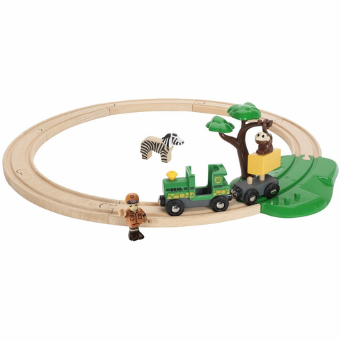 BRIO Railway - Safari Starter Set