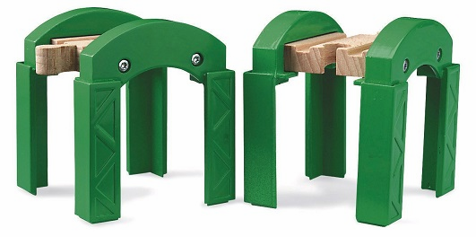 BRIO Railway - Stacking Tracks Supports