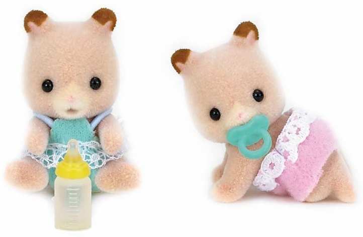 Calico Critters - Fluffy Hamster Twins