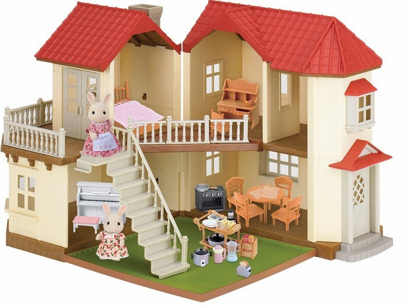 Calico Critters - Luxury Townhome Gift Set