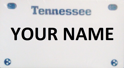 Kid License Plate - Tennessee