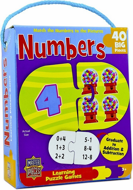 Learning Puzzle Games - Numbers Edition