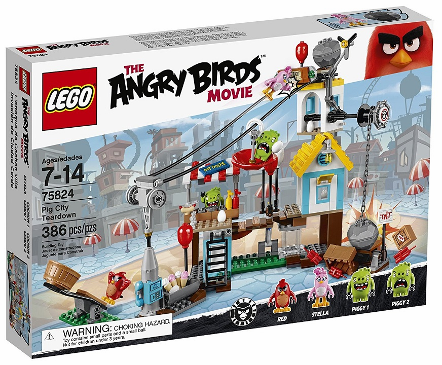 Lego - Angry Birds - Pig City Teardown