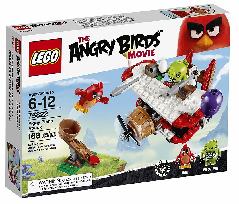 Lego - Angry Birds - Piggy Plane Attack