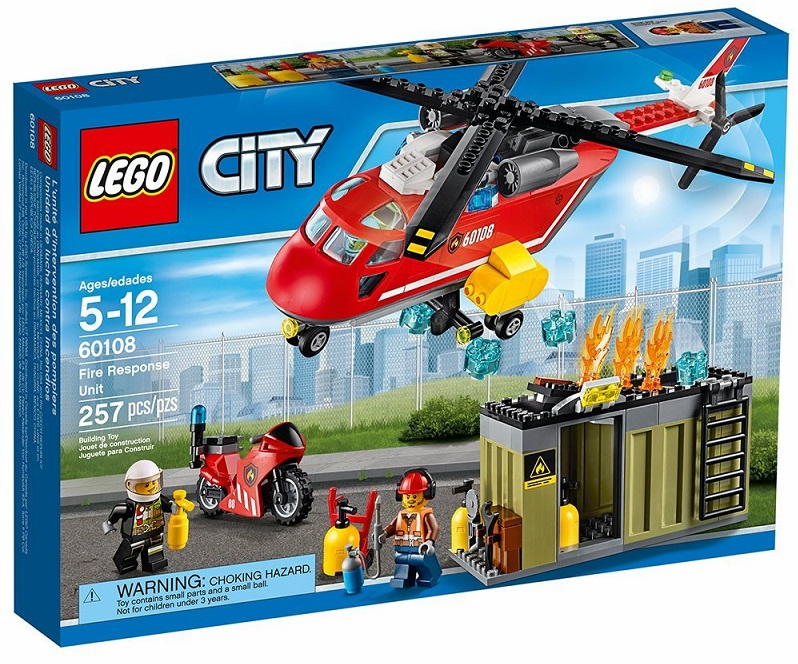 Lego - City - Fire Response Unit