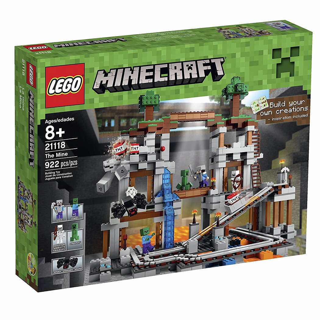 Lego - Minecraft - The Mine - SUN FADED BOX - Factory Sealed