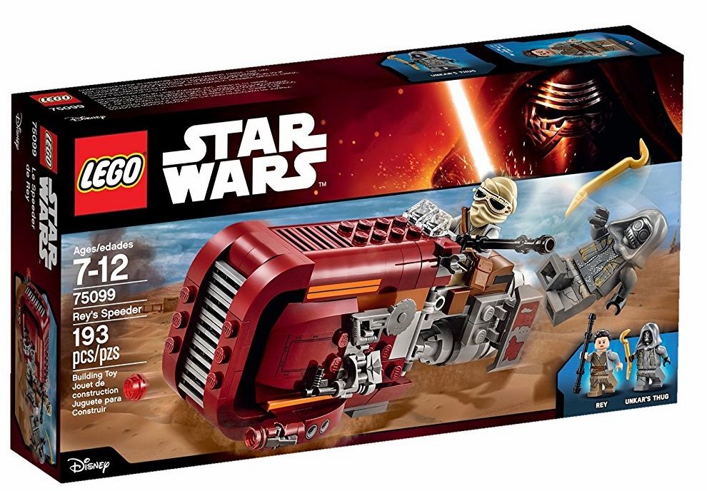 Lego - Star Wars - Rey's Speeder