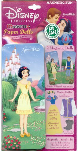 Magnetic Doll Set - Snow White with Storage Tin