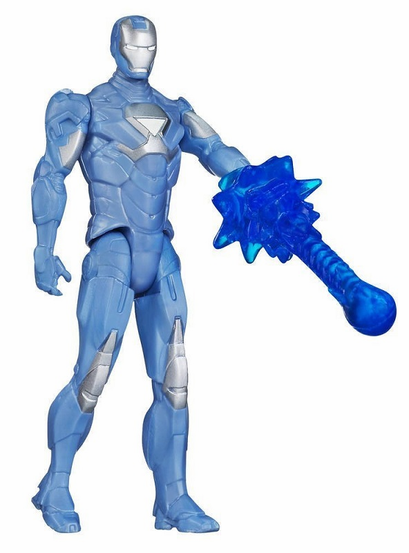 Marvel - Cold Snap Iron Man (3.75 inches)