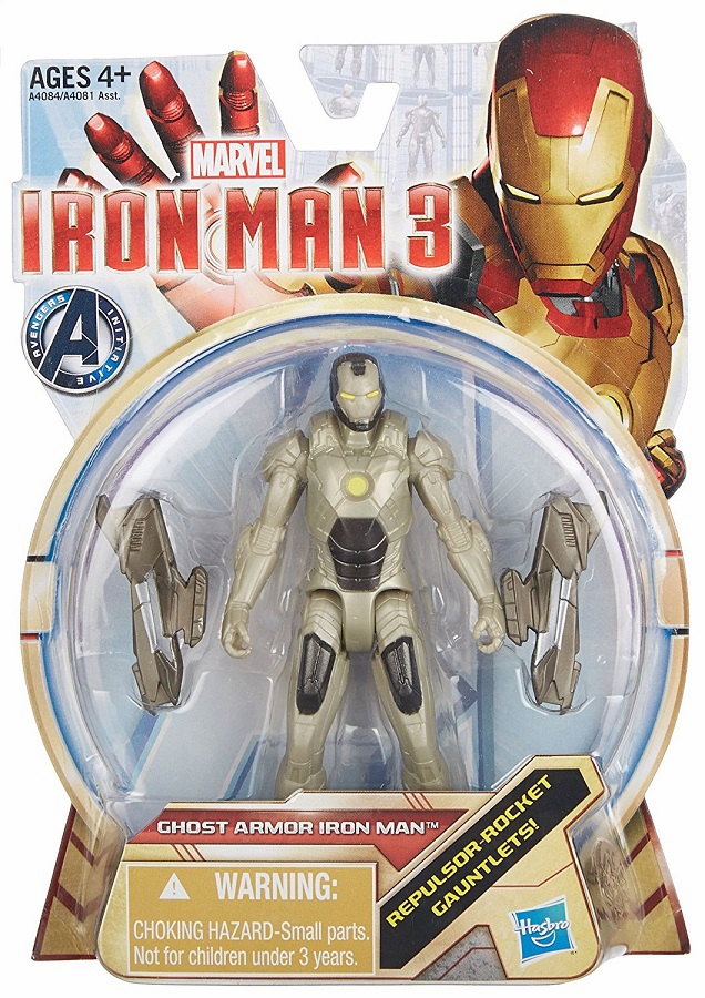 Marvel - Ghost Armor Iron Man (3.75 inches)