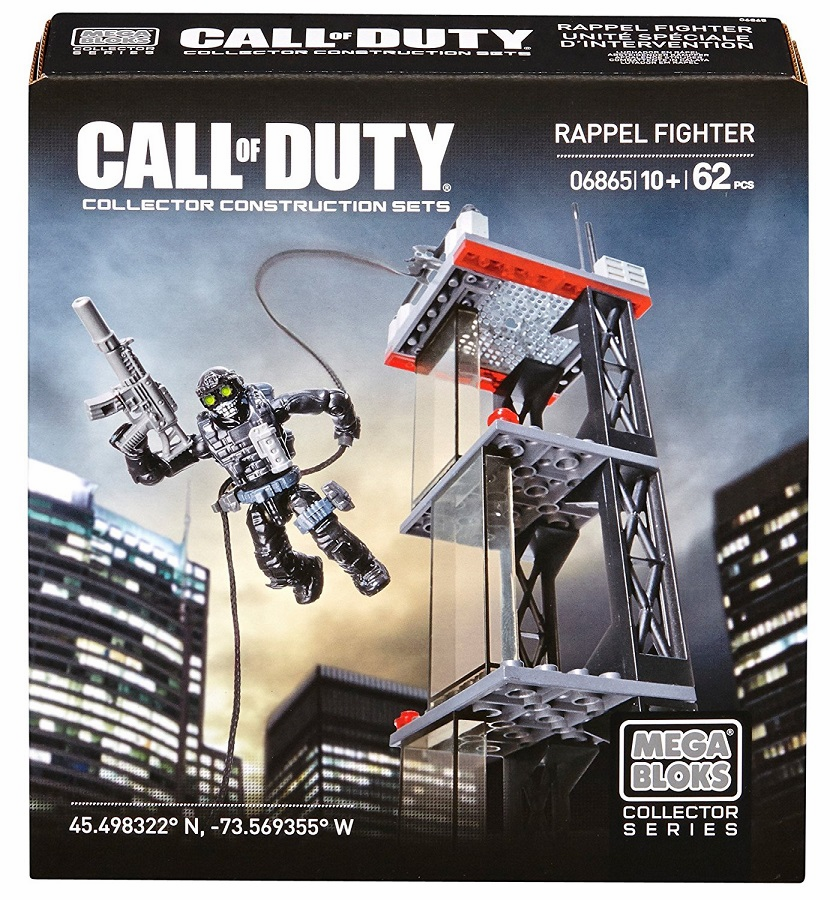 Mega Bloks - Call of Duty -Ghosts Rappel Fighter