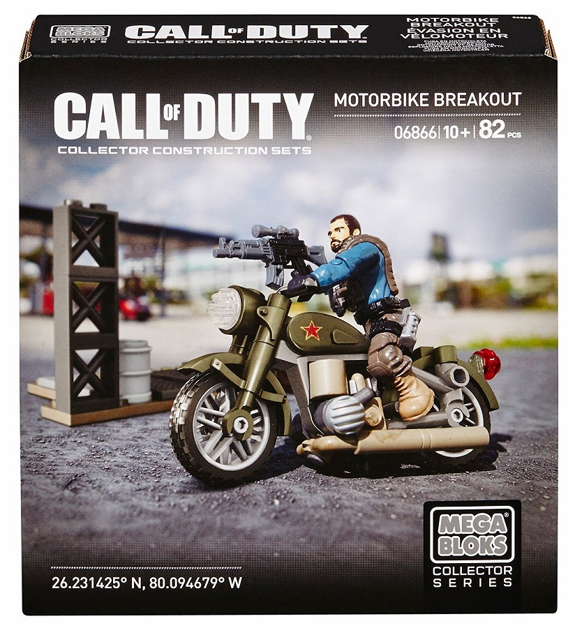 Mega Bloks - Call of Duty - Motorbike Breakout