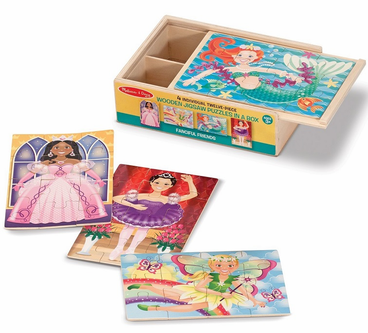 Melissa and Doug - Fanciful Friends Wood Puzzles (4)
