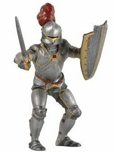 Papo - Armored Knight - Red