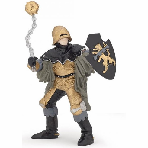 Papo - Black and Bronze Officer with Mace