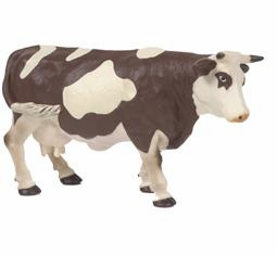 Papo - Brown & White Standing Cow
