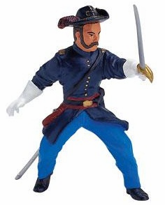 Papo - Calvary Officer w/ Sabre