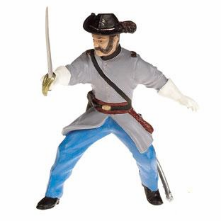 Papo - Confederate Officer w/ Sabre
