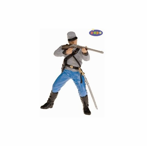 Papo - Confederate Soldier with Rifle