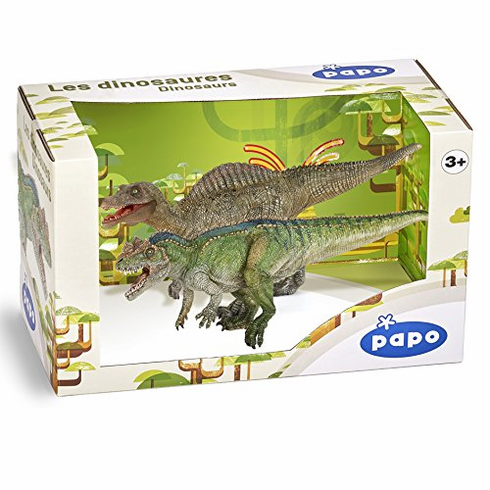 Papo - Dinosaur Box w/ Exclusive Young Spinosaurus