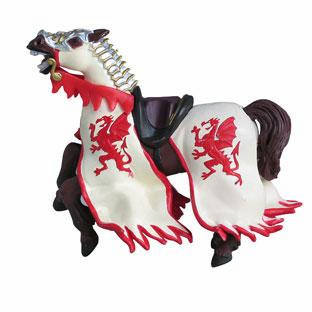 Papo - Dragon King's Horse - Red