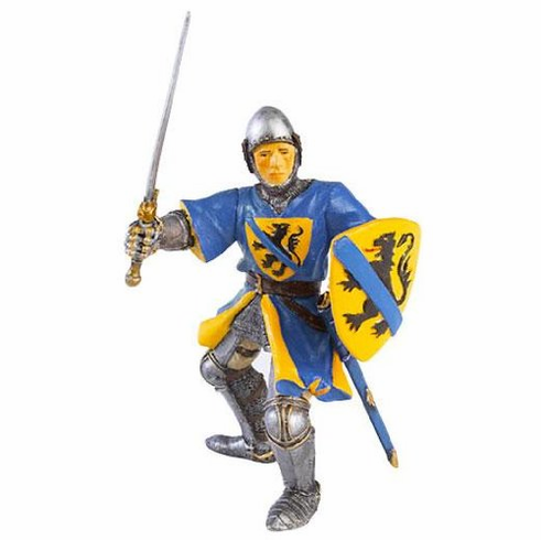 Papo - Flandres Knight - Blue