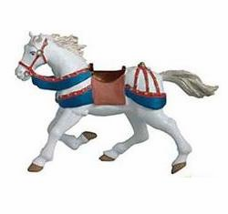 Papo - Galloping Horse Red and Blue