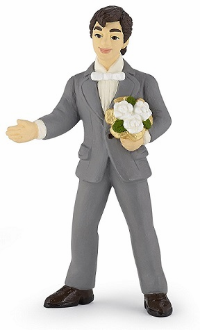 Papo - Groom With Bouquet