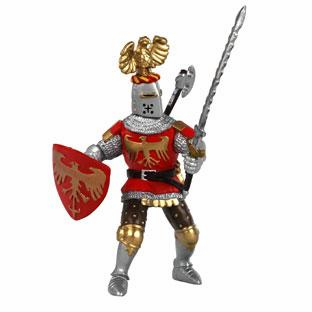 Papo - Knight w/ Crest - Red
