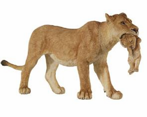 Papo - Lioness With Cub