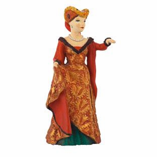 Papo - Medieval Fair Lady - Red