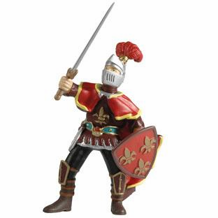 Papo - Paladin w/ Feather - Red