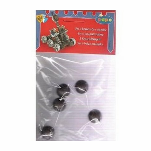 Papo - Set of 5 Catapult Balls