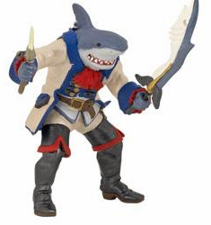 Papo - Shark Mutant Pirate
